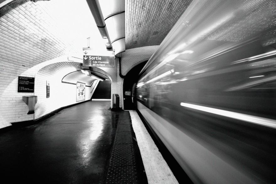 Paris underground - janneke schrey
